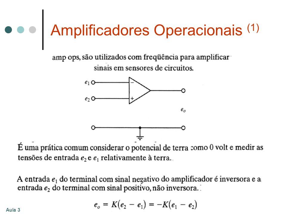 Aula 3 Amplificadores Operacionais (1)