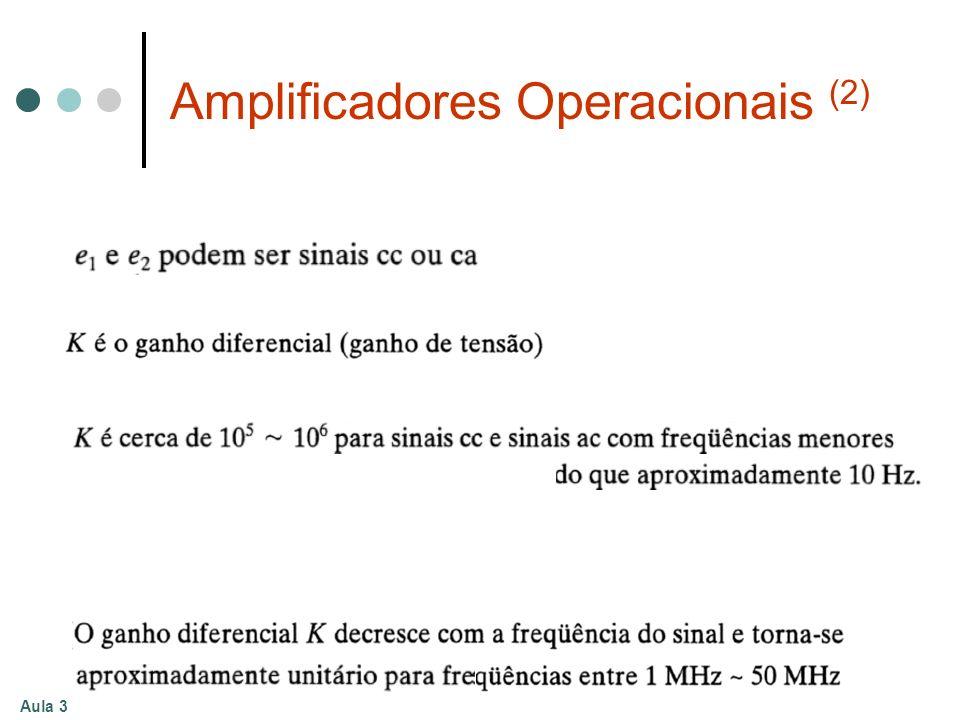 Aula 3 Amplificadores Operacionais (2)