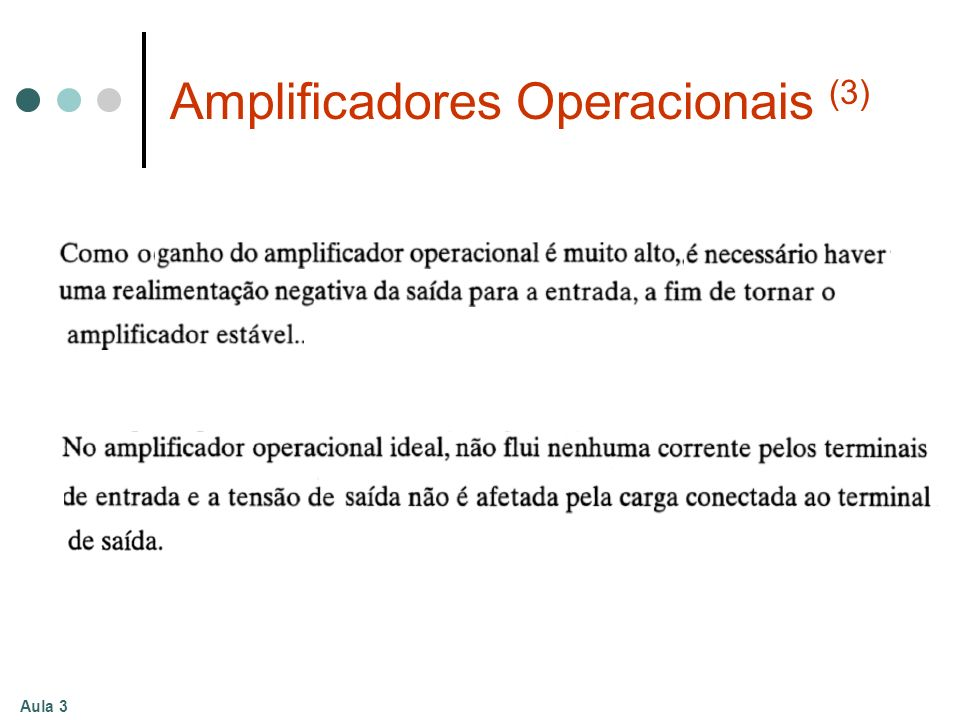 Aula 3 Amplificadores Operacionais (3)