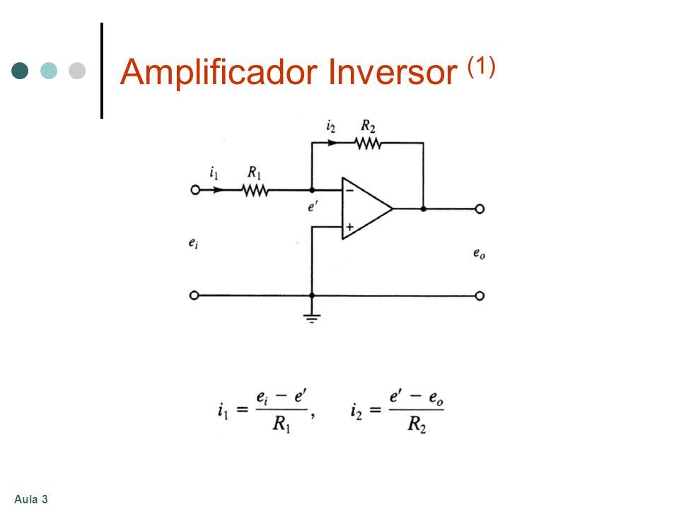 Aula 3 Amplificador Inversor (1)