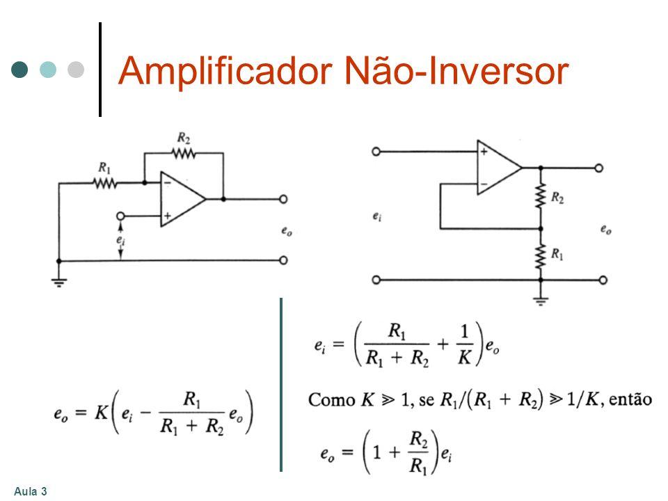 Aula 3 Amplificador Não-Inversor