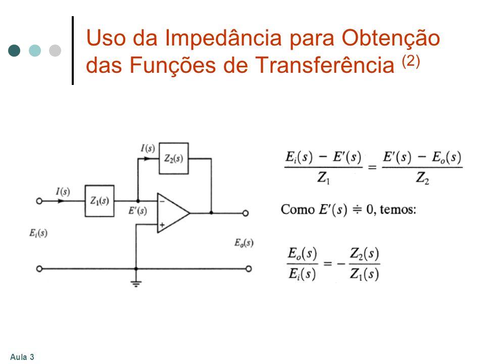 Aula 3 Uso da Impedância para Obtenção das Funções de Transferência (2)