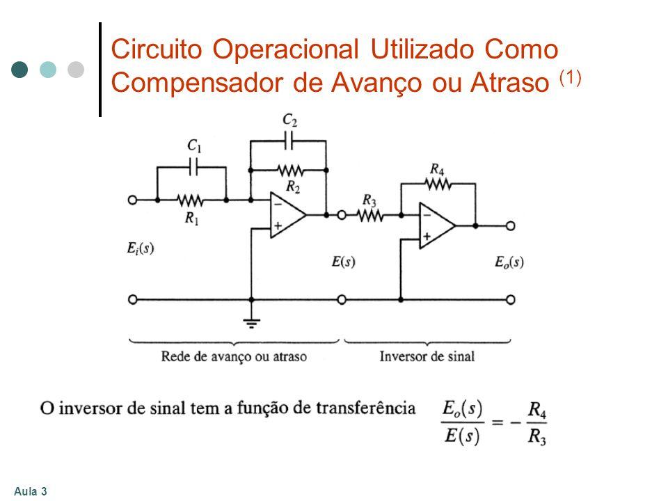 Aula 3 Circuito Operacional Utilizado Como Compensador de Avanço ou Atraso (1)