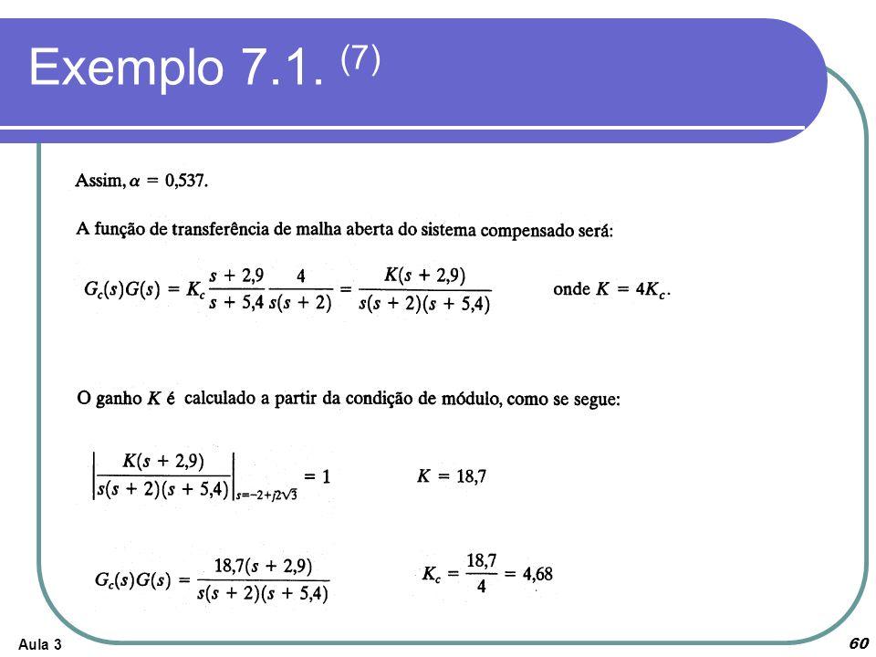 Aula 3 Exemplo 7.1. (7) 60