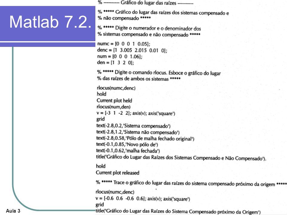 Aula 3 Matlab 7.2.