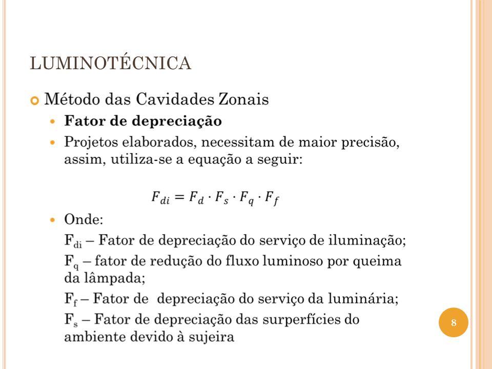 LUMINOTÉCNICA 19