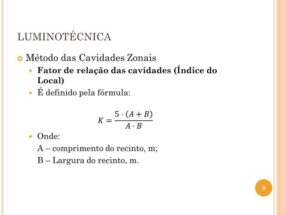 LUMINOTÉCNICA 10