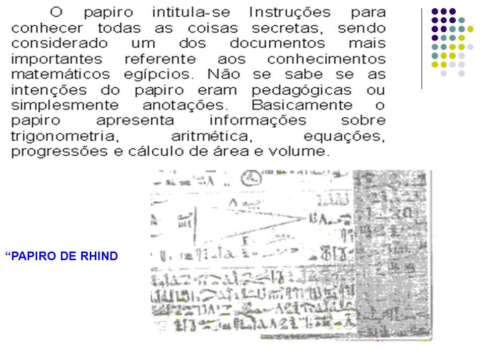 PAPIRO DE RHIND