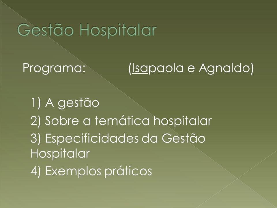 Possuir conhecimentos na área de políticas públicas de saúde e administração.
