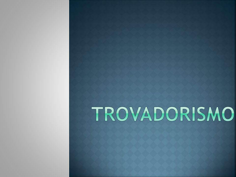 Designa-se por Trovadorismo o período que engloba a produção literária de Portugal durante seus primeiros séculos de existência (séc.