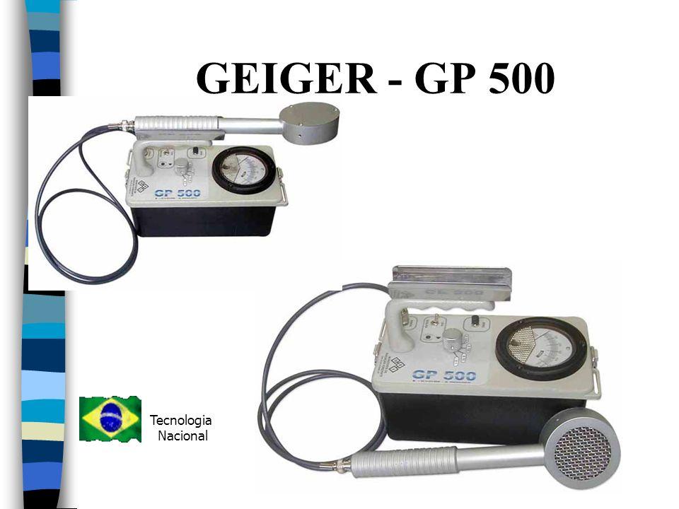 GEIGER - GP 500 Tecnologia Nacional