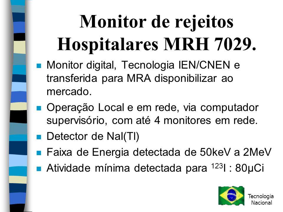 Monitor de rejeitos Hospitalares MRH 7029.