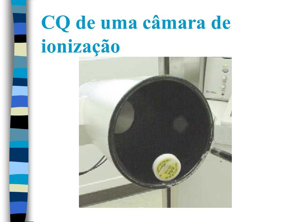 CQ de uma câmara de ionização