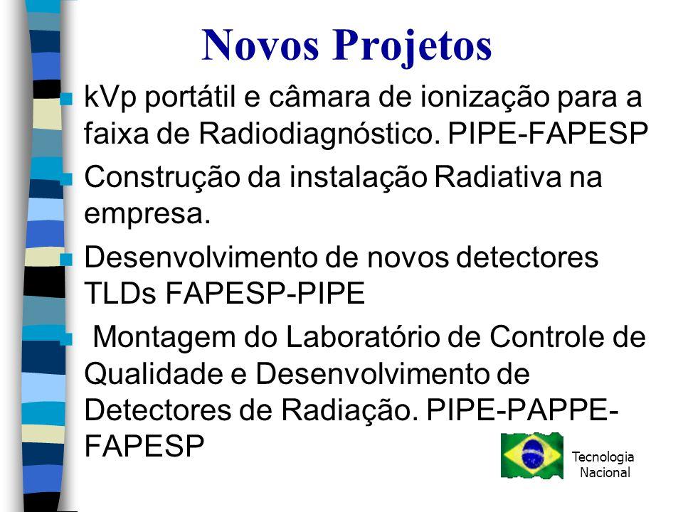 Novos Projetos n kVp portátil e câmara de ionização para a faixa de Radiodiagnóstico.