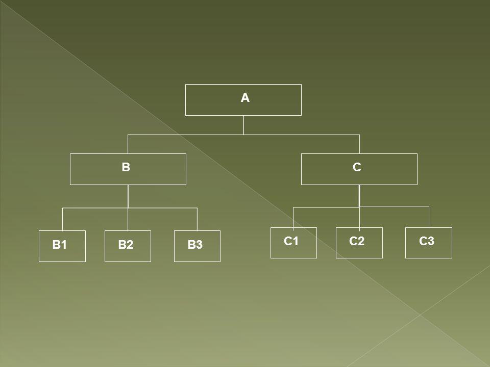 A BC B1B2B3 C1C2C3