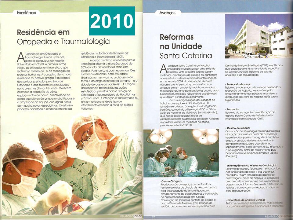 NOVO HU 2014 350 leitos 10 andares Complexo hospitalar com 11 blocos 1200 vagas de estacionamento