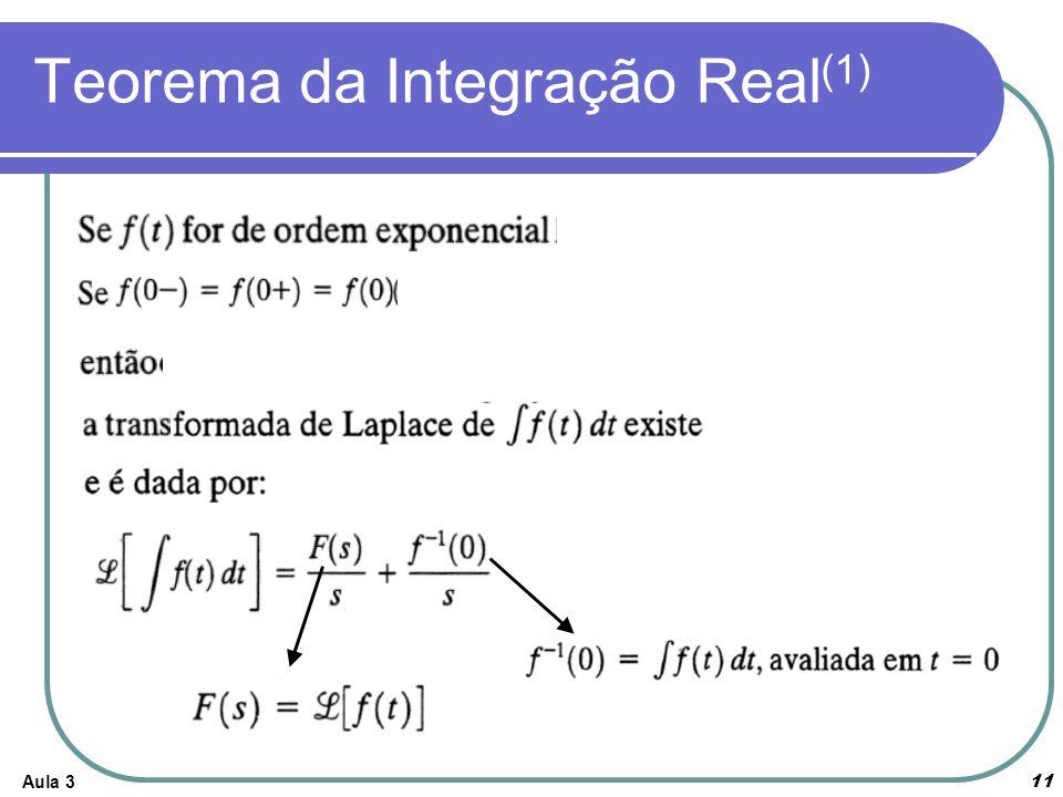 Aula 3 11 Teorema da Integração Real (1)
