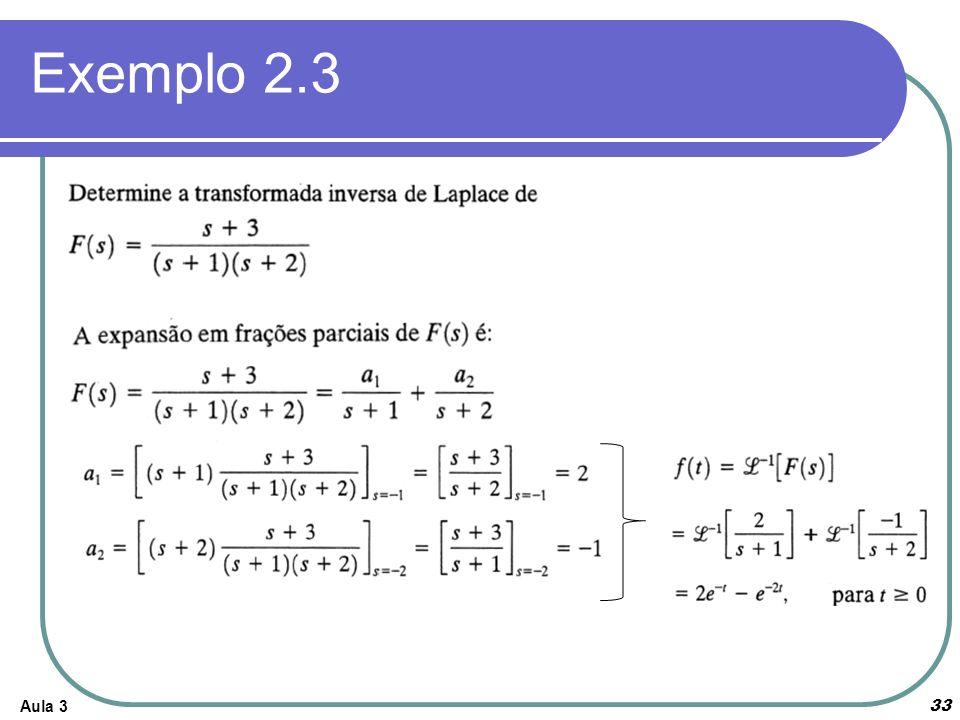 Aula 3 33 Exemplo 2.3