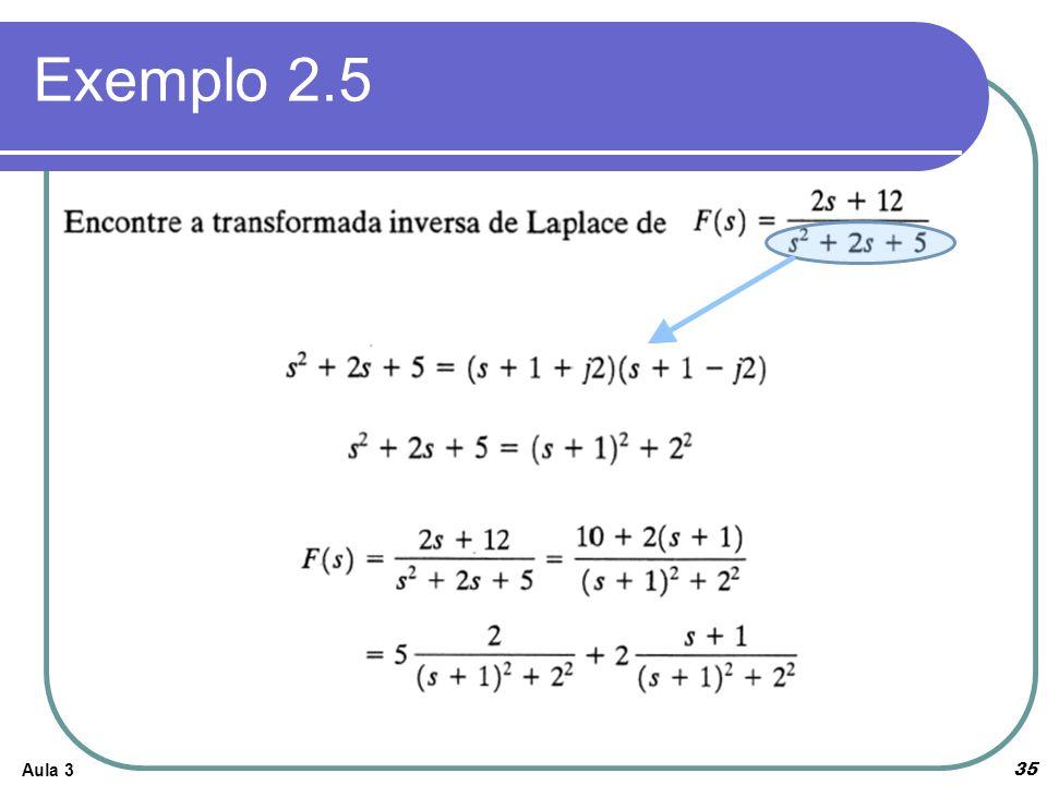 Aula 3 35 Exemplo 2.5