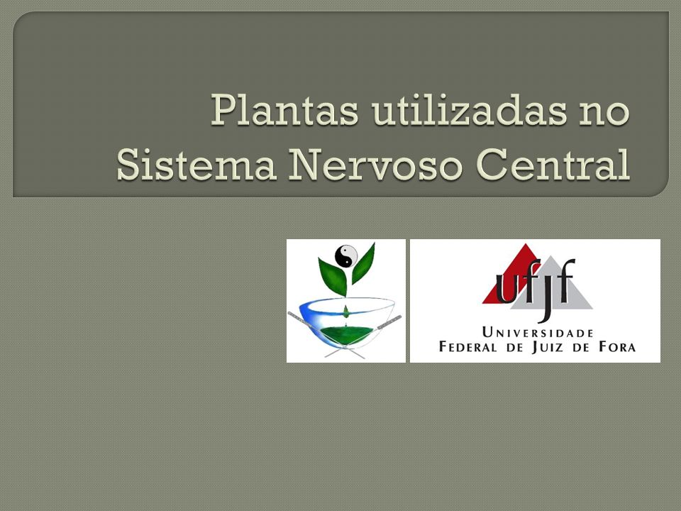 Plantas que possuem ação antidepressiva (hipérico) e estimulante do SNC (guaraná, ginseng).