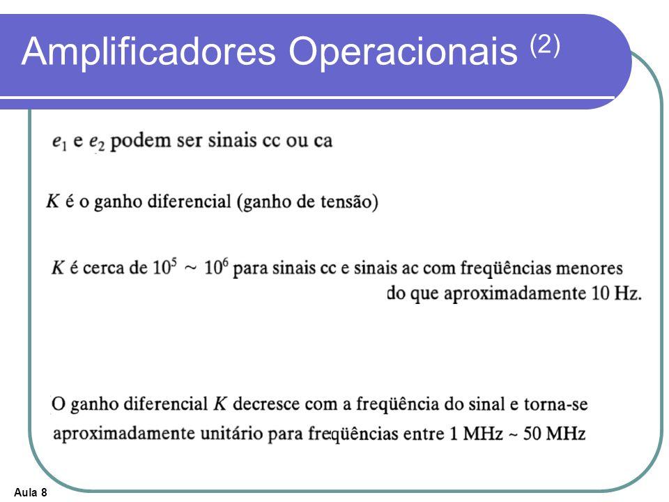Aula 8 Amplificadores Operacionais (2)