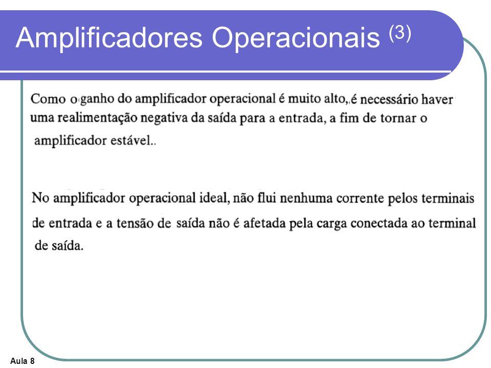 Aula 8 Amplificadores Operacionais (3)