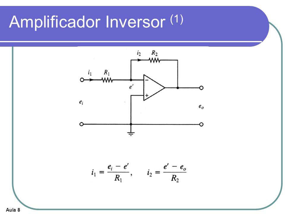 Aula 8 Amplificador Inversor (1)