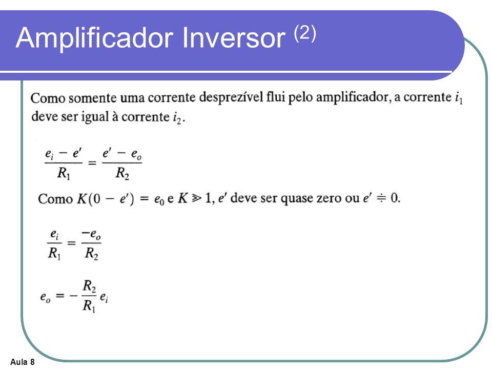 Aula 8 Amplificador Inversor (2)