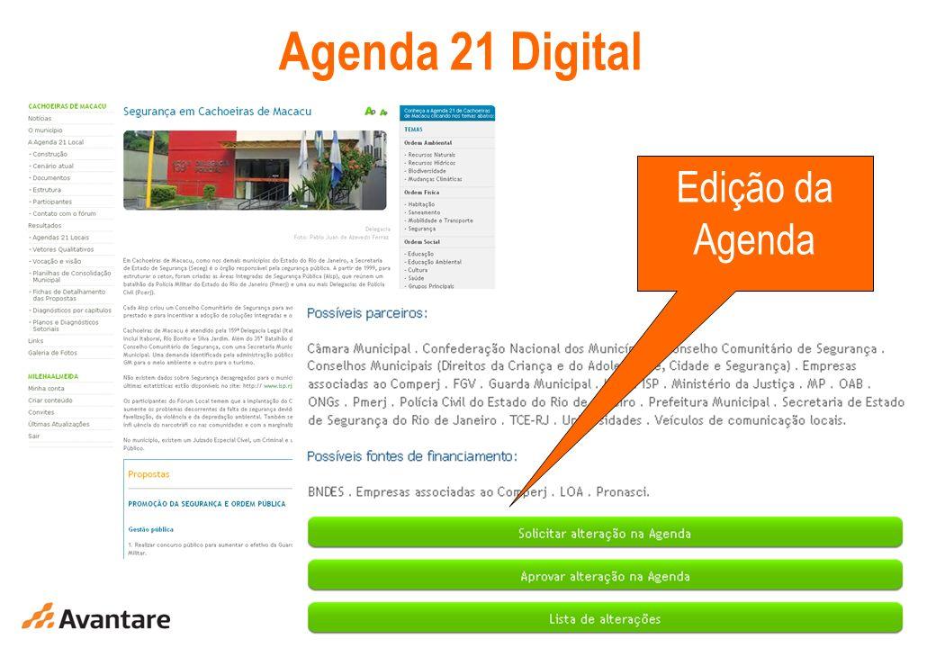 10 Agenda 21 Digital Edição da Agenda