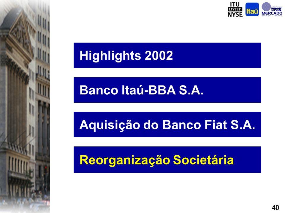 39 Preço A Fiat irá indicar um membro para o Conselho de Administração do Banco Fiat S.A.
