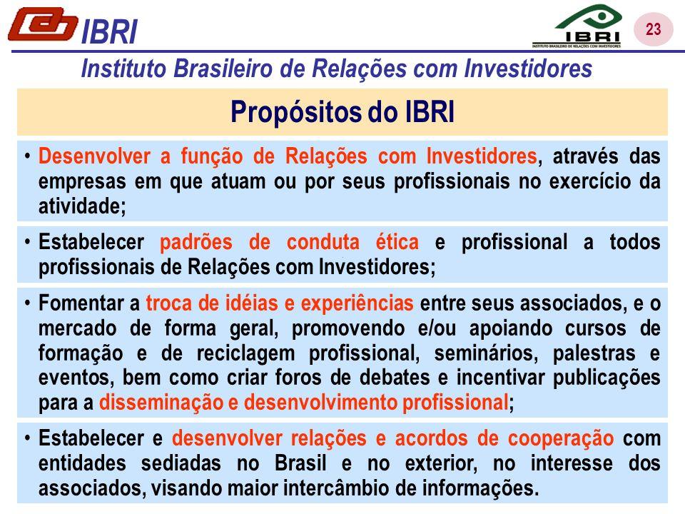 23 Estabelecer e desenvolver relações e acordos de cooperação com entidades sediadas no Brasil e no exterior, no interesse dos associados, visando maior intercâmbio de informações.