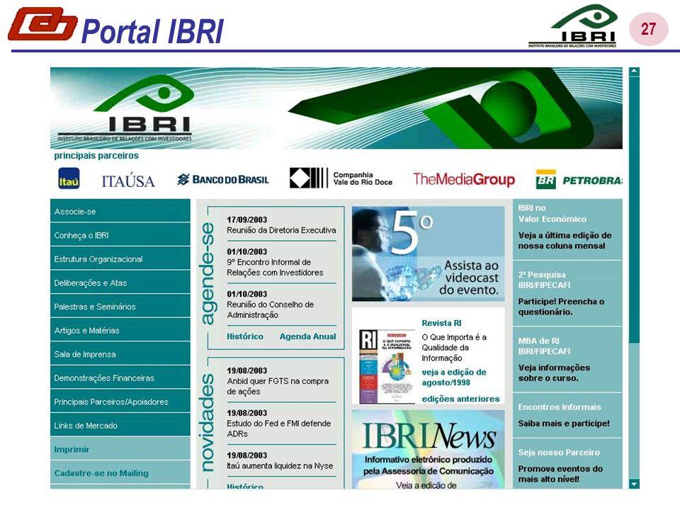 27 Portal IBRI
