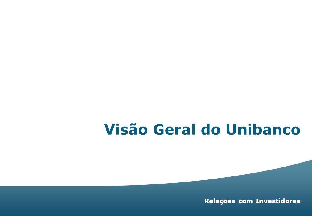 Relações com Investidores   33 Grupo Moreira Salles Float Units + GDS Outros Total 513.068 1.075.410 40.668 1.629.146 Unibanco Holdings Float Units + GDS Outros Total 1.629.146 1.075.410 98.515 2.803.071 18% 38% 2% 58% 38% 4% 100% PN Unibanco Holdings PN Unibanco + UNITs 76,7% Estrutura Acionária % de Ações do Unibanco Milhares de ações 1 GDS=10 Units % de Ações do Unibanco