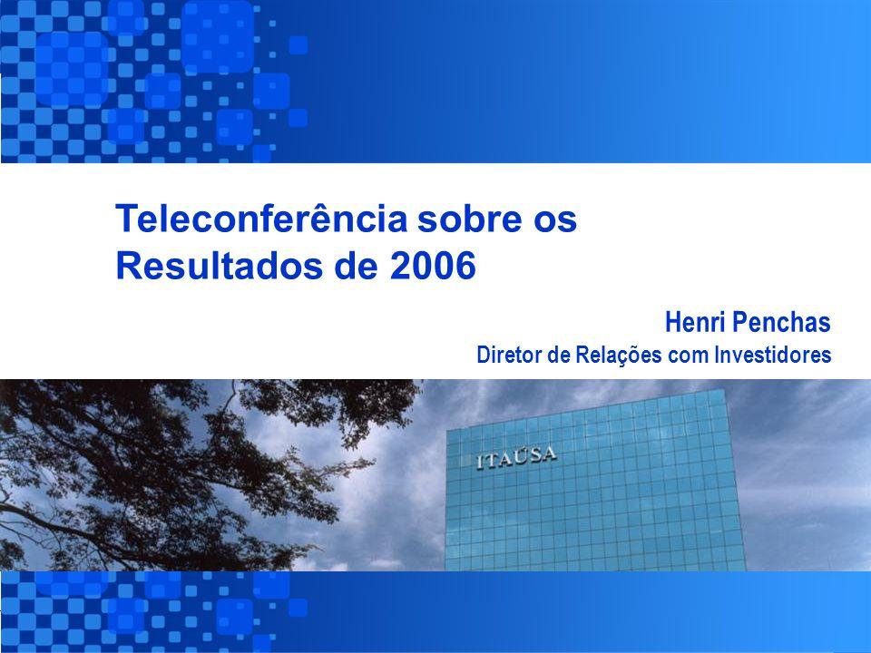 31 Controladora / Individual - Sustentabilidade Itaúsa Consolidado A Itaúsa no Mercado de Ações Performance das Principais Controladas