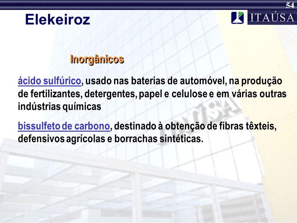 53 Elekeiroz concentrado uréia-formol, usado na produção de resinas para chapas de fibra de madeira formaldeído, usado na produção de resinas, nas ind