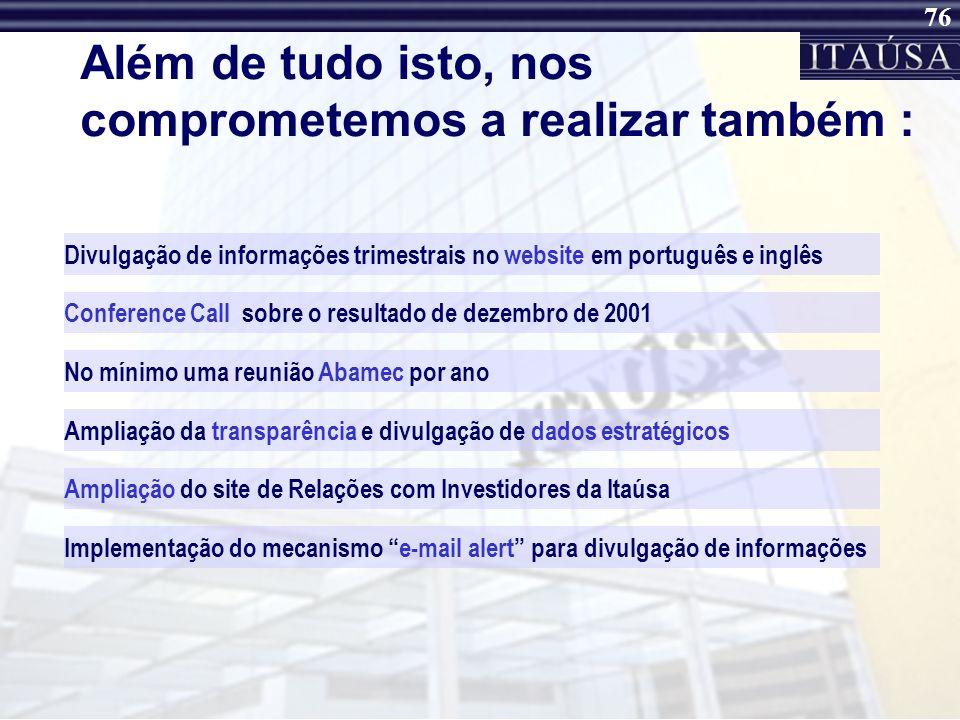75 Itaúsa Portugal O Grupo BPI é um grupo que concentra a sua atividade em duas principais áreas de negócio: Banco de Investimento e Banco Comercial.