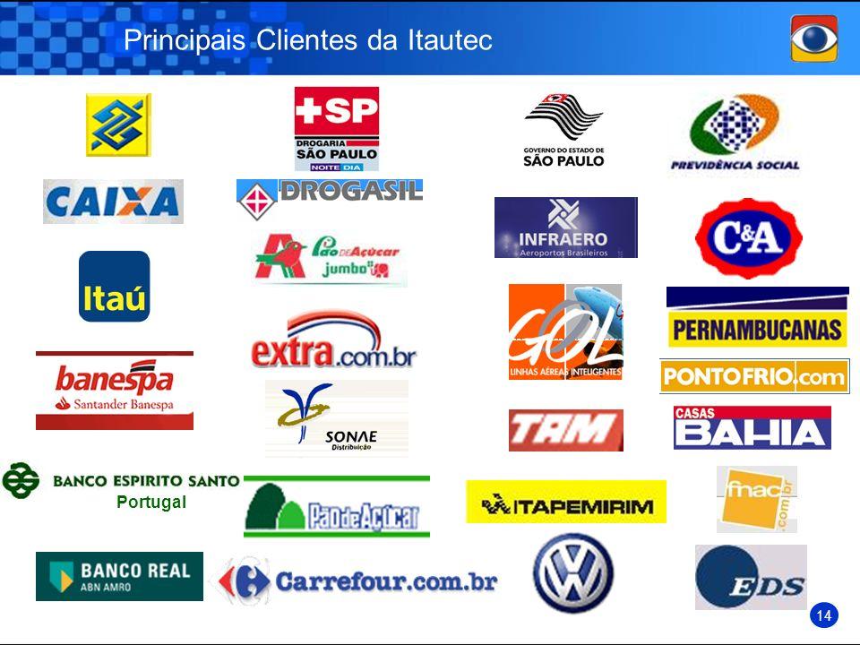 Principais Clientes da Itautec Portugal 14