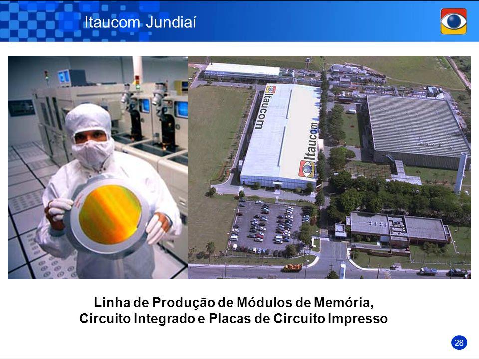 Itaucom Jundiaí Linha de Produção de Módulos de Memória, Circuito Integrado e Placas de Circuito Impresso 28