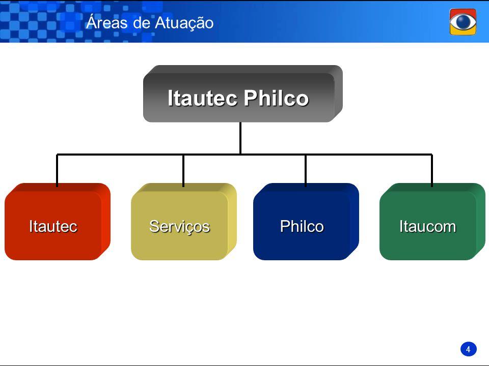 Áreas de Atuação Itautec Itautec Philco ServiçosPhilcoItaucom 4