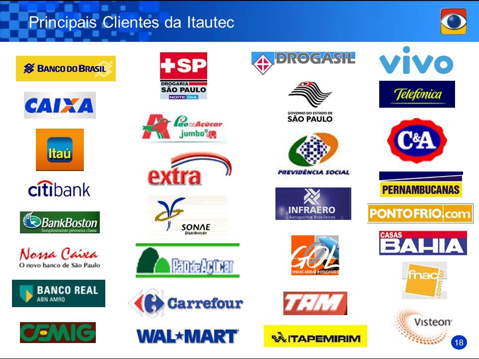 Principais Clientes da Itautec 18