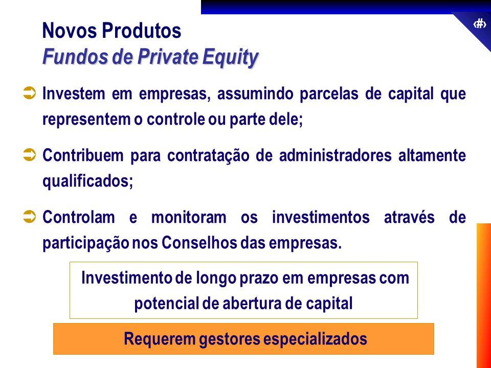 49 Investem em empresas, assumindo parcelas de capital que representem o controle ou parte dele; Contribuem para contratação de administradores altame
