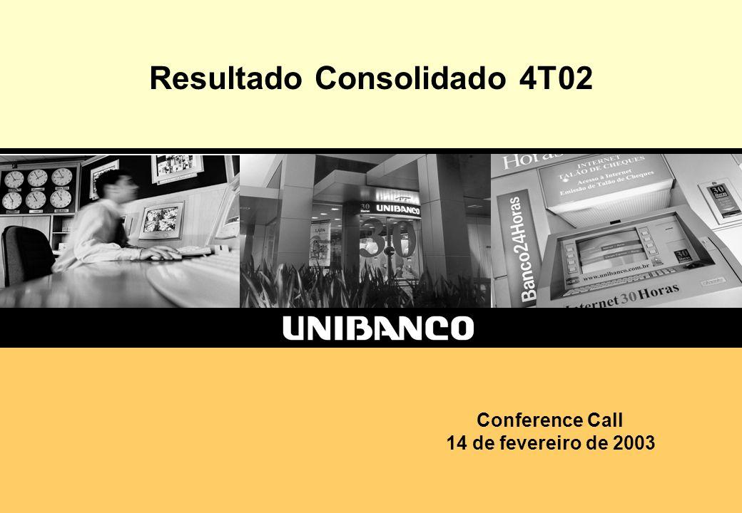 1 Resultado Consolidado 4T02 Conference Call 14 de fevereiro de 2003