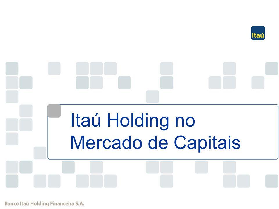 45 R$ Milhões Crescimento das Operações de Crédito Participação do Itaú na Credicard passou de 33% para 50% Cartão de Crédito 491 ItauBank CAGR BIHF(0