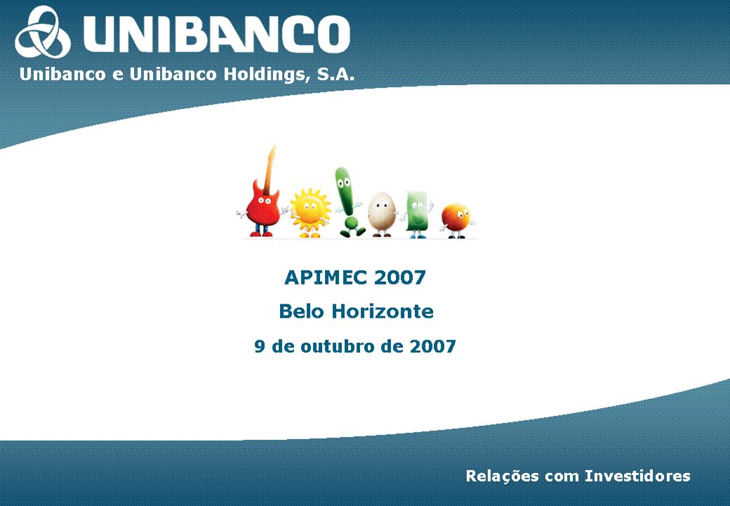 Investor Relations | page 1 Unibanco | 1