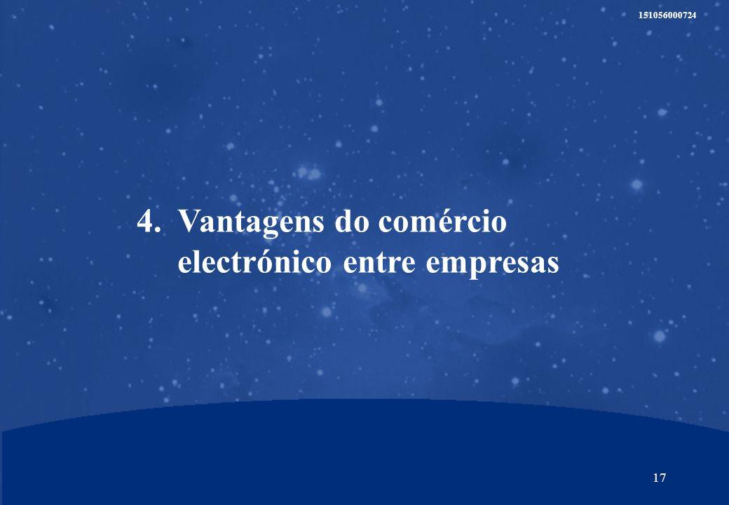 16 151056000724 Estimativa do potencial de criação de valor para os parceiros pelo negócio B2B no Brasil e na Argentina Milhões de dólares Para os parceiros, o desenvolvimento do negócio B2B no Brasil e na Argentina é uma aposta estratégica Argentina Brazil 20012002200320042005 215 20 65 120 180 INVESTIMENTOS 60 MILHÕES DE DÓLARES ARGENTINA + BRASIL EM 3 ANOS TCCA 80% Evolução das receitas VALOR ESTIMADO DAS NOVAS COMPANHIAS B2B = > 750 Milhões US$