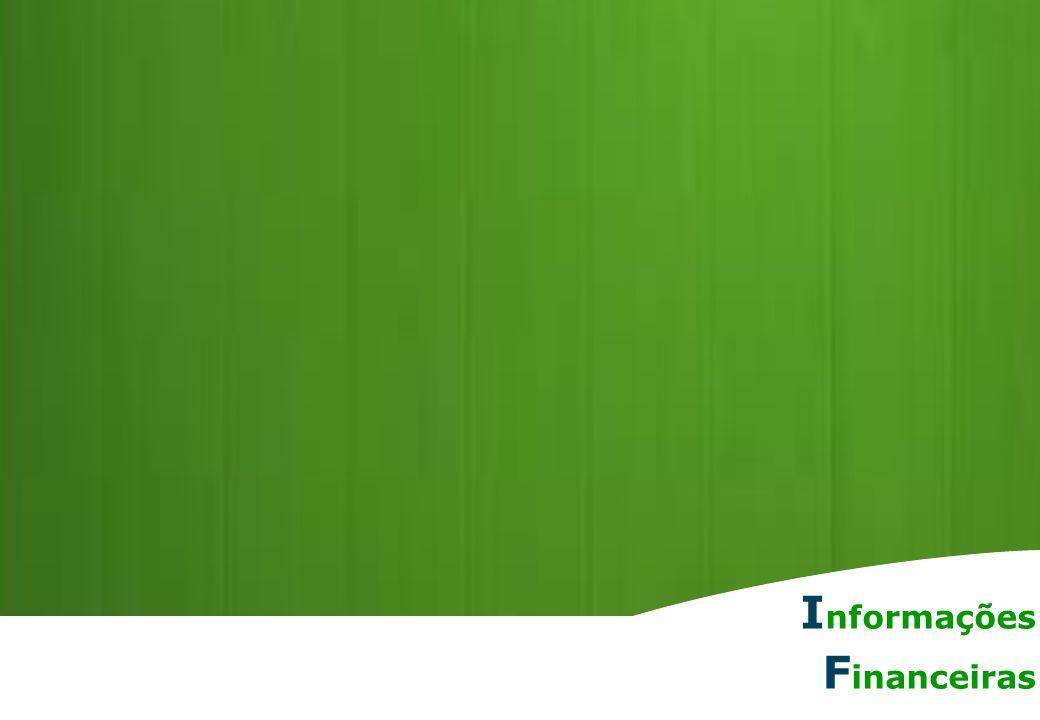 Relações com Investidores | 8 R etrospectiva I nformações F inanceiras