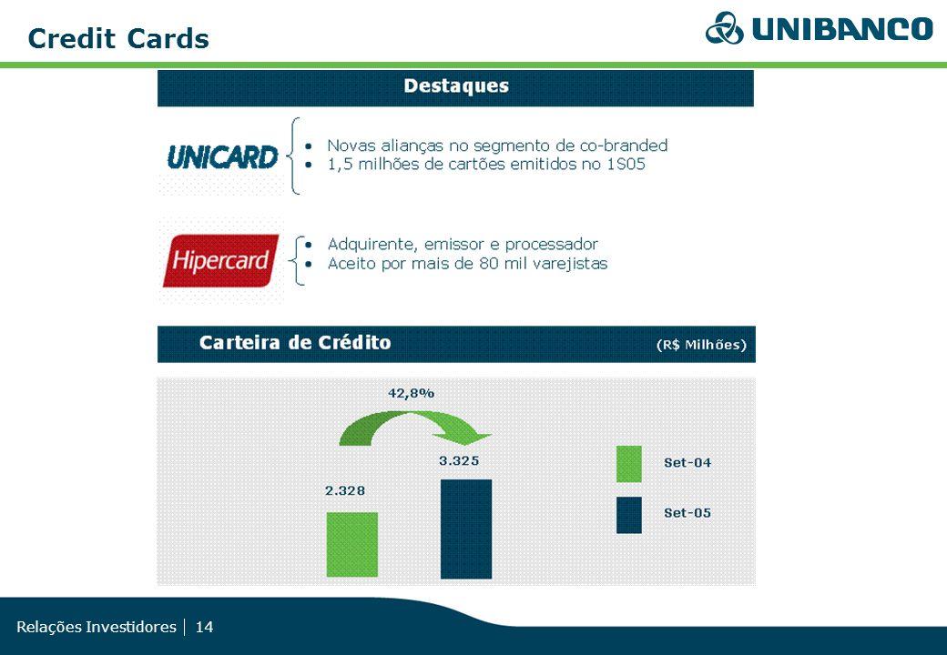 Relações Investidores 14 Credit Cards