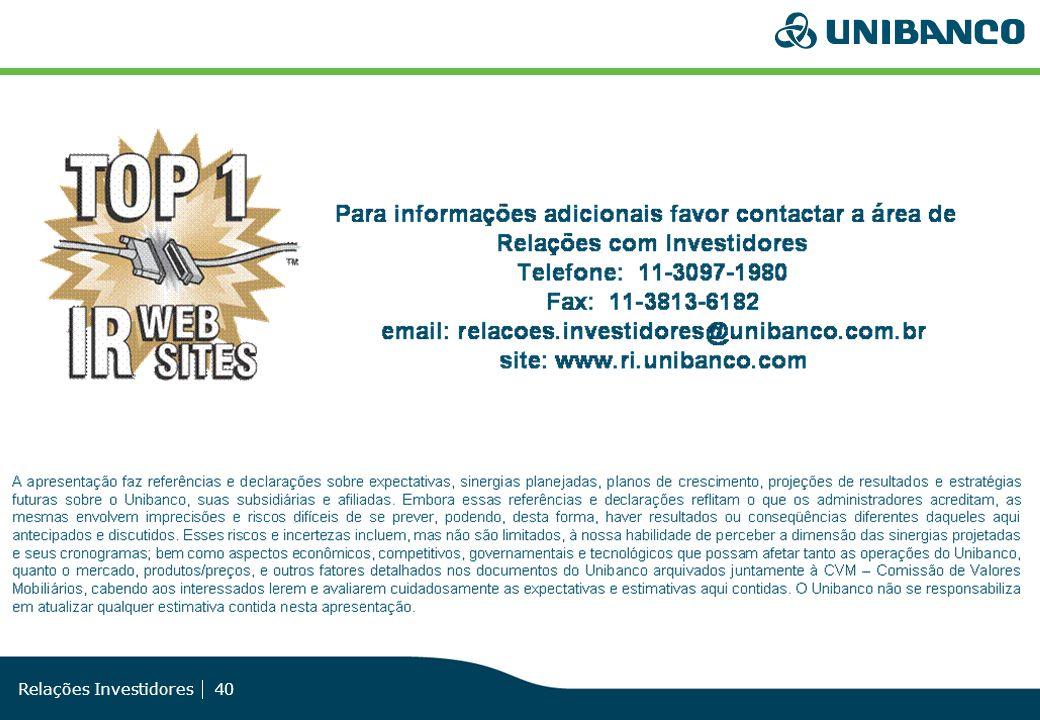 Relações Investidores 40