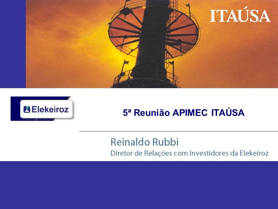 Signatária do Programa de Atuação Responsável International Chemical Association - ICA & Associação Brasileira da Indústria Química - ABIQUIM Responsabilidade Ambiental 21