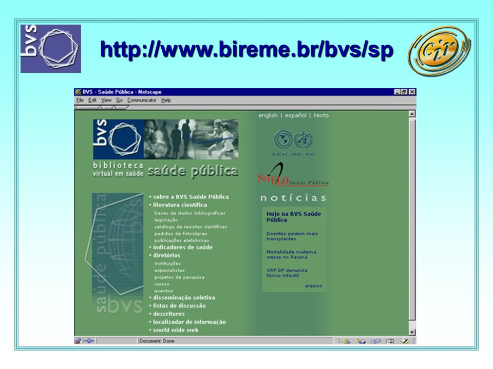 http://www.bireme.br/bvs/sp/P/ppublic.htm